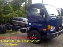Xe tải Hyundai 3.5 tấn, xe Hyundai HD72 3.5 tấn thùng mui kín inox
