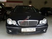 Cần bán lại xe Mercedes C240 đời 2004, màu đen, giá chỉ 385 triệu
