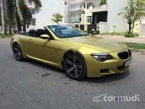 Xe BMW M6 2008 cũ màu vàng đang được bán