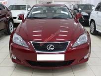 Xe Lexus IS 250 đời 2008, màu đỏ, xe nhập