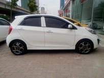 Bán Kia Morning model 2012 full đồ, màu trắng, nội thất đỏ đun, xe còn mới 95%, đẹp không tì vết