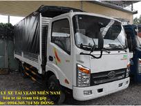 bán xe tải veam vt350 3t5, bán xe tải veam 3,5 tấn trả góp gia rẻ, chỉ cần 30% giá xe