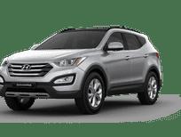 Cần bán xe Hyundai Santa Fe 2.2 đời 2015, màu trắng