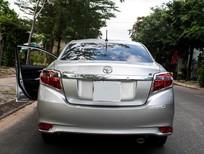 Toyota Vios 2k15 màu bạc chạy lướt cần bán nhanh