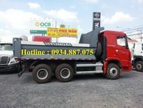 Bán xe ben Hyundai Trago Xcient 3 chân 13 tấn/ 3 giò 13 tân (13T) thùng đúc 10 khối