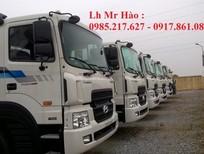 Bán xe tải 3 chân Hyundai HD 210 giá tốt, hỗ trợ trả góp 80%.
