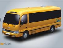 Bán ô tô Hyundai County G sản xuất 2015, màu vàng, nhập khẩu nguyên chiếc