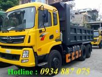Bán xe ben Cửu Long TMT 3 chân 13.1 tấn (13,1 tấn), xe tải ben Cửu Long 3 chân 13 tấn