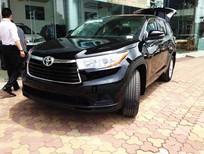 Cần bán Toyota Highlander LE đời 2015, màu đen, nhập khẩu