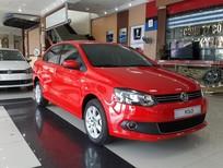 Cần bán Volkswagen Polo Sedan MT 2015, màu đỏ, xe nhập, 640tr