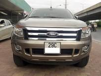 Bán Ford Ranger XLT 2.2L 2014 màu vàng cát, số tay, máy xăng, 2 cầu, chính chủ, cực đẹp