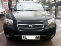 Cần bán xe Hyundai Santa Fe MLX đời 2009, màu đen, nhập khẩu chính hãng