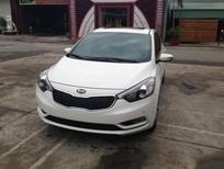 Cần bán xe Kia K3 1.6 AT năm 2015, màu trắng, giá chỉ 678 triệu