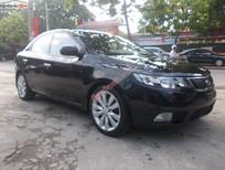 Cần bán gấp xe Kia Forte MT đời 2010, màu đen số sàn, giá cạnh tranh