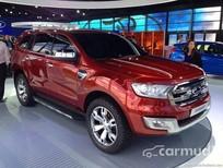 Xe Ford Everest 3.2 2015 mới màu đỏ, nhập khẩu trực tiếp từ USA đang được bán