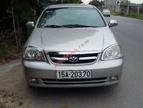 Cần bán lại xe Daewoo Lacetti Se năm 2008, màu bạc số sàn