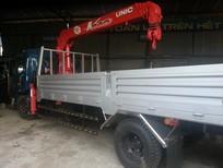Bán xe tải cẩu 5 tấn Veam gắn cẩu Unic 340 3 tấn 3 khúc