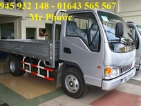 Xe tải JAC 1.5T, xe JAC 1.49T, xe tải JAC 1.5 tấn máy Isuzu bảo hành 5 năm, tặng 50 triệu