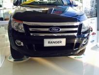 Bán xe Ford Ranger XLT 2.2L số sàn, 2 cầu, màu đen