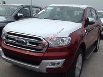 Bán Ford Everest Titanium 2.2 4x2 AT đời 2016, màu đỏ, nhập khẩu
