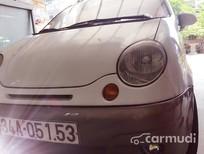 Cần bán lại xe Daewoo Matiz sản xuất 2007, màu trắng, nhập khẩu chính hãng, giá chỉ 130 triệu
