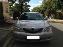Gia đình tôi cần bán chiếc xe Camry màu hồng phấn SX năm 2004, số sàn đã đi được 100.000km