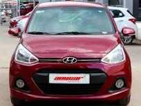 Cần bán xe Hyundai i10 1.0AT sản xuất 2014, màu đỏ, nhập khẩu nguyên chiếc