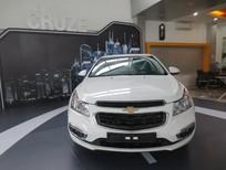 Bán ô tô Chevrolet Cruze 1.6LT năm 2016, màu trắng