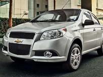 Cần bán xe Chevrolet Aveo LTZ 2016, màu bạc, 453 triệu