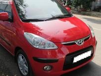 Bán xe Hyundai i10 1.2AT đời 2010, màu đỏ, xe nhập còn mới, giá tốt