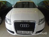 Chợ ô tô Hà Nội - TPHCM bán Audi A6 S Line đời 2009, màu trắng đã đi 50000 km