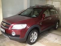 Cần bán lại xe Chevrolet Captiva LTZ AT đời 2008, màu đỏ đã đi 60000 km