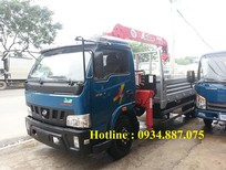 Bán xe tải Veam 5 tấn gắn cẩu Unic 3 tấn,xe tải 5 tấn gắn cẩu 3 tấn,3 khúc