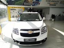 Chevrolet Cần Thơ: Bán xe Chevrolet Orlando 1.8 LTZ đời 2016, màu trắng _ LH ngay: 0944.480.460 _ Phương Linh