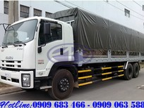 Xe tải 15 tấn Isuzu mui bạt ký hiệu FVM34T đời mới nhất có xe giao ngay giá tốt nhất miền Nam