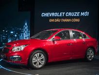 Bán xe Chevrolet Cruze LTZ sản xuất 2016, màu đỏ, số tự động