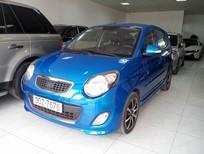 Cần bán lại xe Kia Morning SX đời 2010, màu xanh lam, chính chủ, giá 310tr