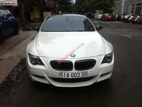 Cần bán gấp BMW M6 đời 2007, màu trắng, nhập khẩu nguyên chiếc số tự động