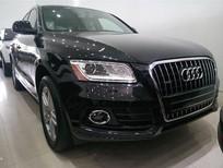 Audi Q5 Premium Plus Mỹ model 2014 màu đen, nội thất đen, hỗ trợ 100% phí trước bạ