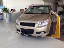 Cần bán xe Chevrolet Aveo 1.5 LTZ đời 2016, màu vàng cát, số tự động