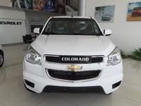Cần bán Chevrolet Colorado 2.5 MT 4x2 đời 2016, màu trắng, nhập khẩu chính hãng