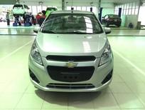 Cần bán xe Chevrolet Spark 1.0 LS đời 2016, màu bạc, giá chỉ 333 triệu