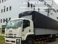 Đại lý bán xe tải Isuzu 15 tấn, xe tải Isuzu 16 tấn 3 chân với giá thấp nhất hiện nay