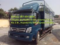 Giá mua Xe tải Ollin 5 tấn Thaco OLLIN 500B tải trọng 5 tấn thùng mui bạt/thùng kín, xe OLLIN 5 tấn Trường Hải