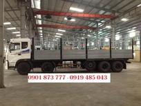 Xe tải Dongfeng Trường Giang 5 chân 22 tấn/22T 10x4 1chân rút, hỗ trợ trả góp, tiền mặt giao ngay xe