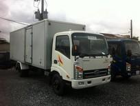 xe tải veam VT260 thùng kín,thùng bạt,xe tải veam 1t99 thùng dài 6m2 - veam 1t99 thùng 6m2 vào thành phố