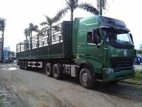 Đầu kéo Howo Cabin A7 máy 375, 420 nhập khẩu, Giá bán xe đầu kéo Howo A7 375Hp, 420Hp 3 chân 2 cầu