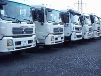 Đại lý xe tải Dongfeng Hoàng Huy 3 chân, 4 chân máy Cummins nhập khẩu/Giá bán xe Dongfeng 13 tấn 17 tấn 18 tấn 2 cầu, Dongfeng C260 L315