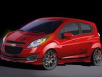 Cần bán Chevrolet Spark LS đời 2016, màu đỏ, nhập khẩu