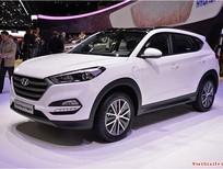 Bán Hyundai Tucson đời 2015, màu trắng, nhập khẩu